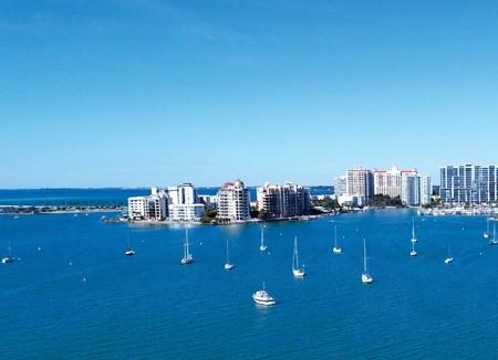 View of Downtown Sarasota from Bird Key Park