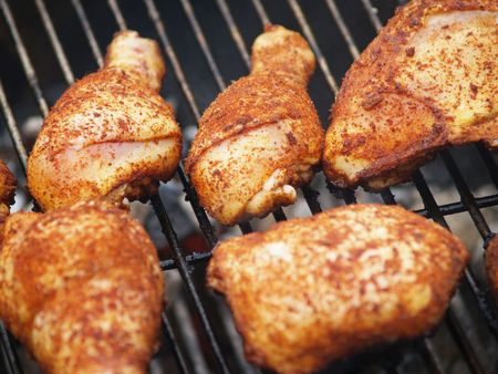Chicken on the BBQ Grill