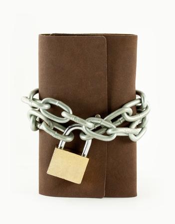 Forbidden books with lock