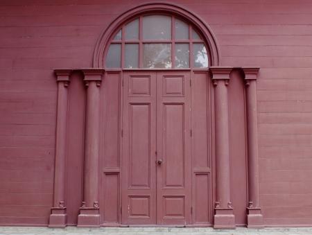 European neoclassical style entrance door