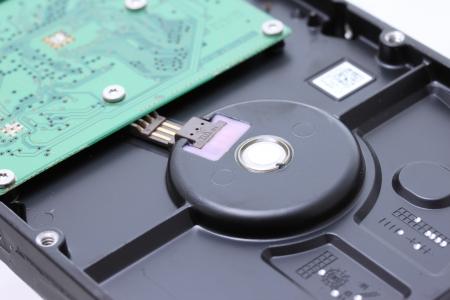 harddisk: Circuit board