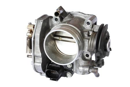 carburetor isolated on white background Standard-Bild