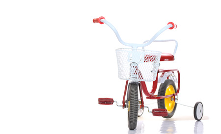 colour wheel: Colorful tricycles for kid