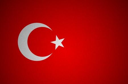 Grunge flag series -Turkey photo
