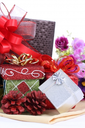 Various gift boxes -Stock Image Stock Photo