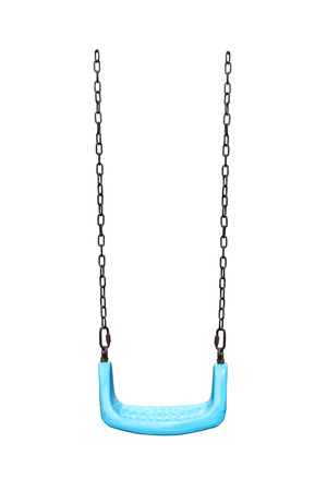 Children swing , isolated on white background