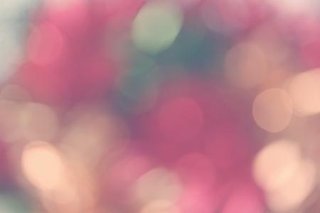 Abstract holiday background, beautiful shiny Christmas lights, glowing magic bokeh Standard-Bild