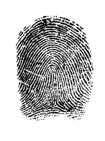 an fingerprint Stock Photo