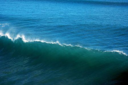 An blue wave