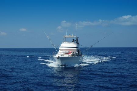 charter: Sport Fishing Boat ready for game fishing
