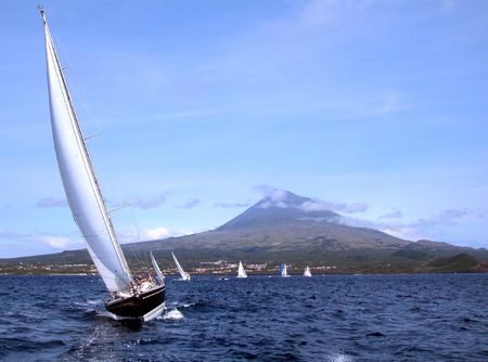 regatta in Azores (Pico)