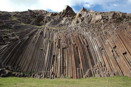 crystallize: rock texture