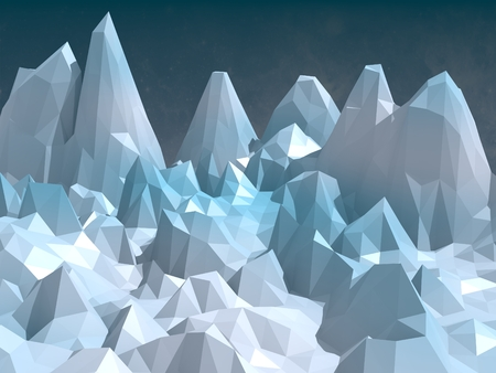 low poly shapes abstract background