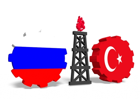 mine data: image relative to gas transit from russia to turkey