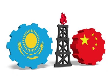 mine data: image relative to gas transit from kazakhstan to china