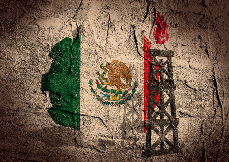 mine data: image relative to mexico gas industry Stock Photo