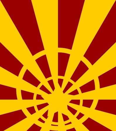 sun burst: abstract sun burst vintage banner