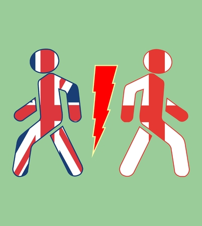 politic: imabe relative to politic situation between great britain and england
