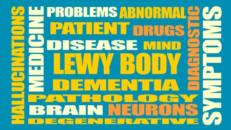 latent: Lewy body dementia tags cloud