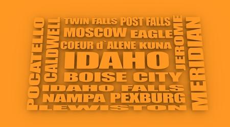 image relative to usa travel. idaho locations