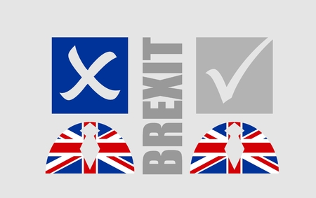 politic: United Kingdom exit from europe relative image. Brexit named politic process. Referendum theme