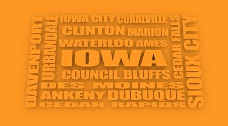 davenport: image relative to usa travel. Iowa state cities list