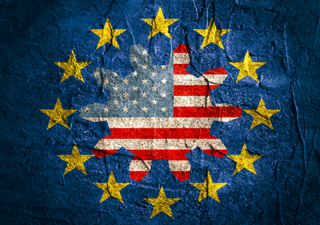 TTIP - Transatlantic Trade and Investment Partnership. Europe and USA association