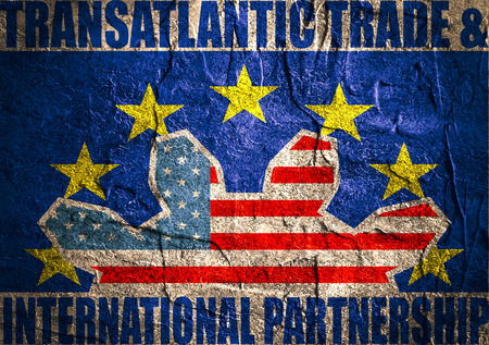 lobbyists: TTIP - Transatlantic Trade and Investment Partnership. Europe and USA association