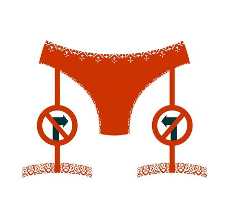 boudoir: Lingerie icon simple.