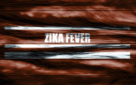 terra: Abstract relief texture background landscape. 3D rendering. Zika fever text