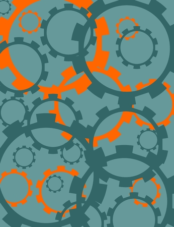 precision: Cog wheels background. Decoration pattern from gears. Precision machinery relative backdrop