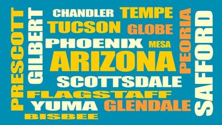 chandler: image relative to usa travel, arizona state cities list Illustration