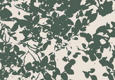 bushes: Berry bushes in forest. Summer season. Green plants. Vector illustration