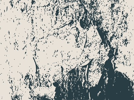 bass relief: Relief stone surface texture. Old concrete wall. Monochrome image. Grunge distress texture.Vector template. Illustration