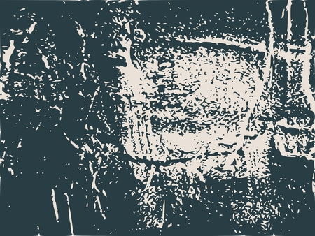 bass relief: Relief stone surface texture. Old concrete wall. Monochrome image. Grunge distress texture. Vector template. Illustration