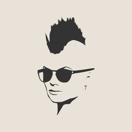 212 Mohawk Haircut Stock Illustrations Cliparts And Royalty Free