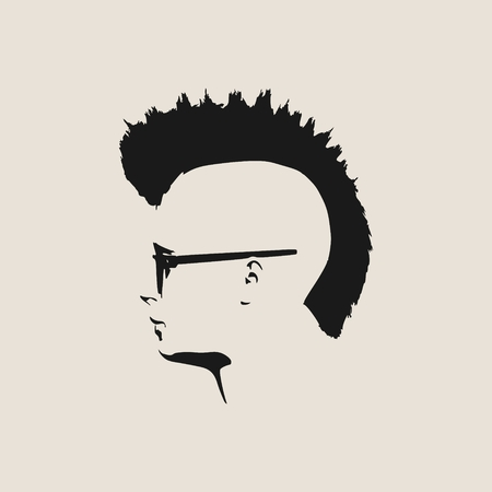 280 Mohawk Hairstyle Stock Illustrations Cliparts And Royalty Free