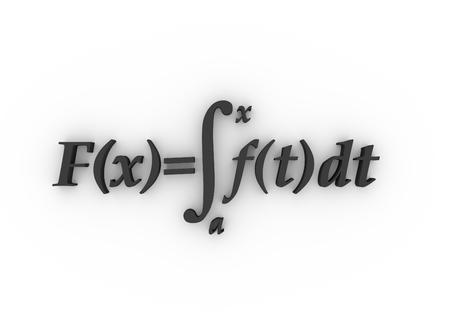 Fórmulas matemáticas. Representación 3D. Educación y ciencia antecedentes relativos Foto de archivo - 77828004