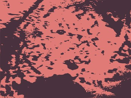 Monochrome image. Grunge distress texture. Vector template