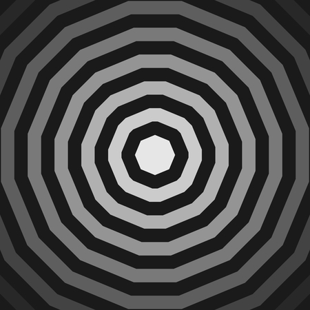 Geometry design element. Abstract background. Concentric lines