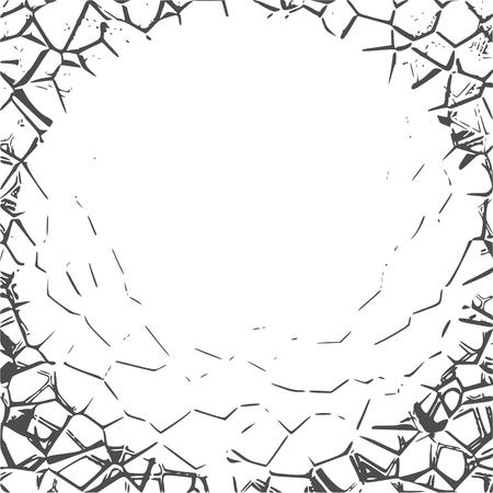 Grunge Cracks Effect Texture background.