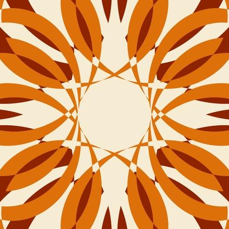 Abstract Radial curved rays Ilustração