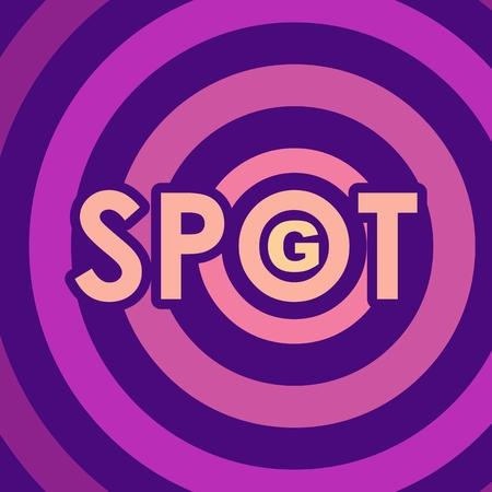 Métaphore de l'exploration de la sexualité féminine. Concept de zone érogène Spot-g.