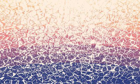 Grunge cracks effect texture. Cracked concrete wall. Gradient paint