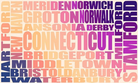 Image relative to USA travel. Connecticut state cities list