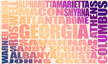 Image relative to usa travel. Georgia state cities list