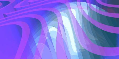 Abstract background with stripes or curves. Lines pattern. Backdrop for presentation. 3D rendering Banco de Imagens