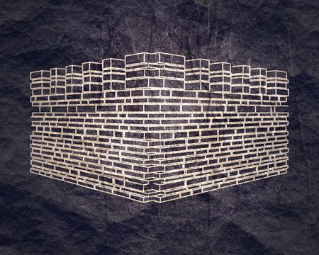 Part of the abstract castle defense wall.