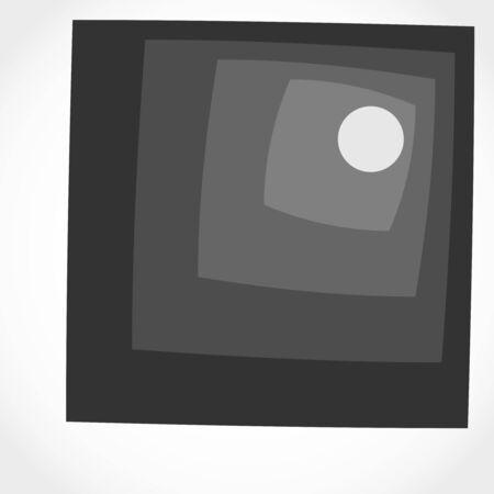 Geometry design. Seamless geometric pattern. Square shapes Ilustração