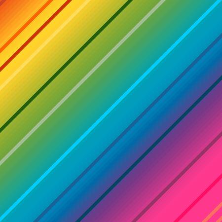 Geometry abstract background with stripes. Various diagonal lines. Illusztráció